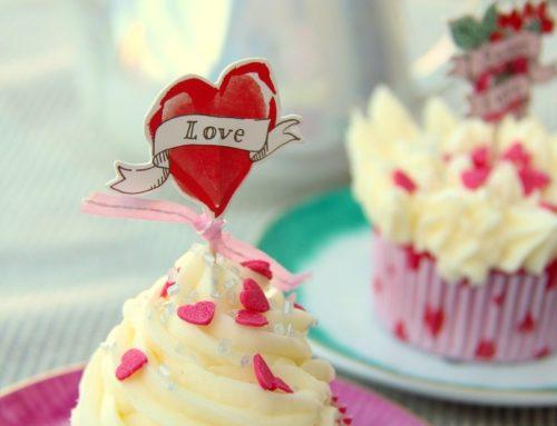 Buttercream cupcakes per un delizioso San Valentino