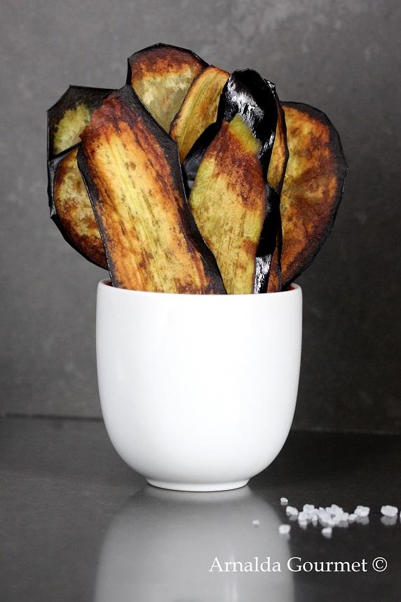 chips di melanzana